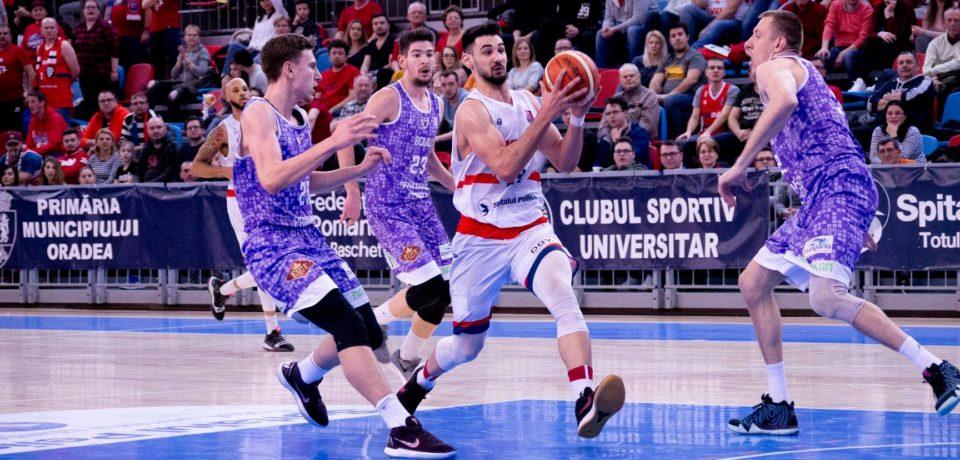 Debut cu dreptul în play-off-ul Ligii Naționale pentru CSM CSU Oradea