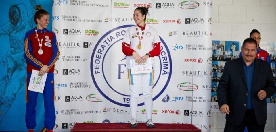 Bianca Benea a urcat din nou pe podium