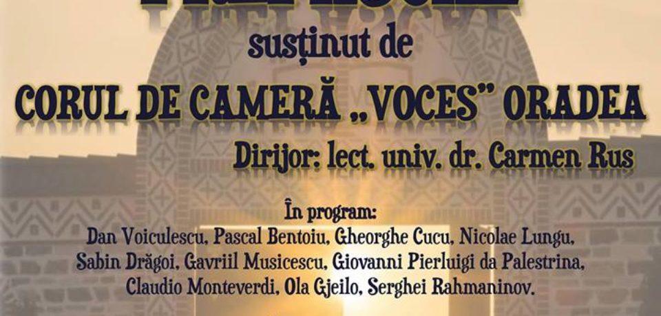 """Concert Coral Prepascal de muzică sacră, la Catedrala """"Sfântul Nicolae"""" din Oradea"""