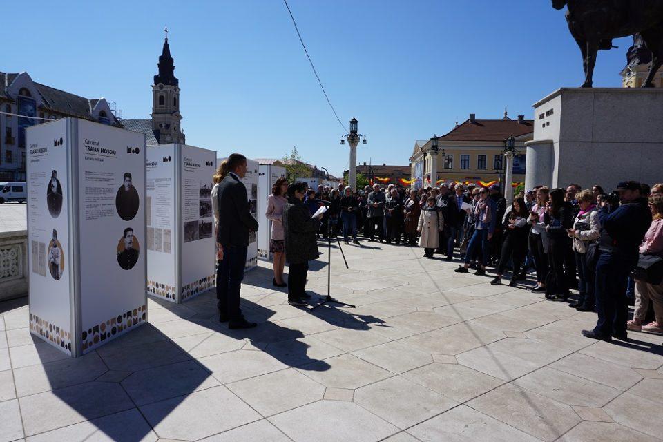 Oradea stie sa-si pretuiasca istoria si sa-si omagieze eroii. Video