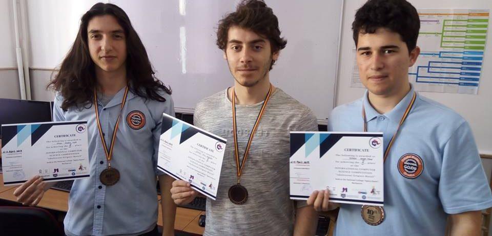 """Premii pentru gojdiști, la Concursul Internațional de Informatică """"Adolescent Grigore Moisil"""""""