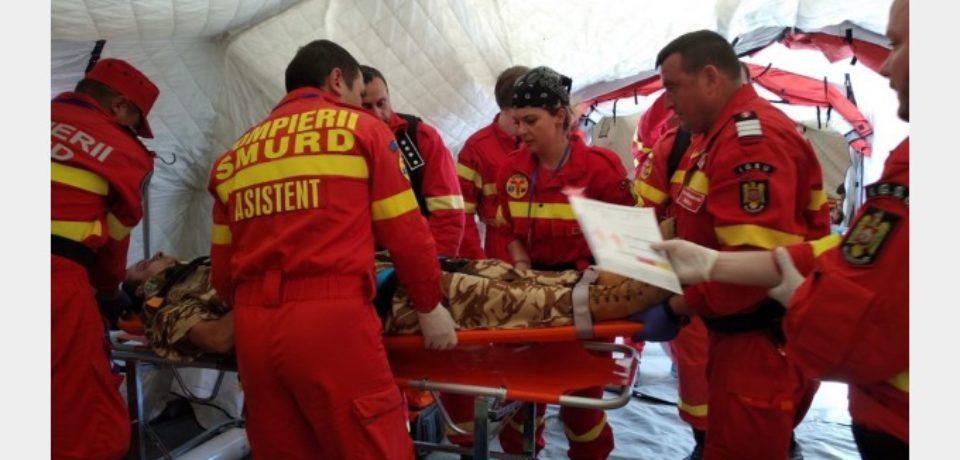 Pompieri și medici SMURD Bihor, la cel mai mare exercițiu din istoria NATO
