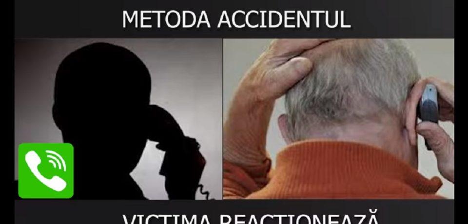 """Metoda """"Accidentul"""": șase orădeni păcăliţi cu 26.400 de euro și 16.600 de lei"""