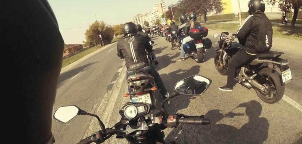 Start pentru un nou sezon moto. Demostrații, urmate de marș pe ruta Oradea-Salonta