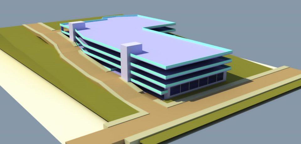 Se va construi o parcare supraterană lângă Spitalul Județean