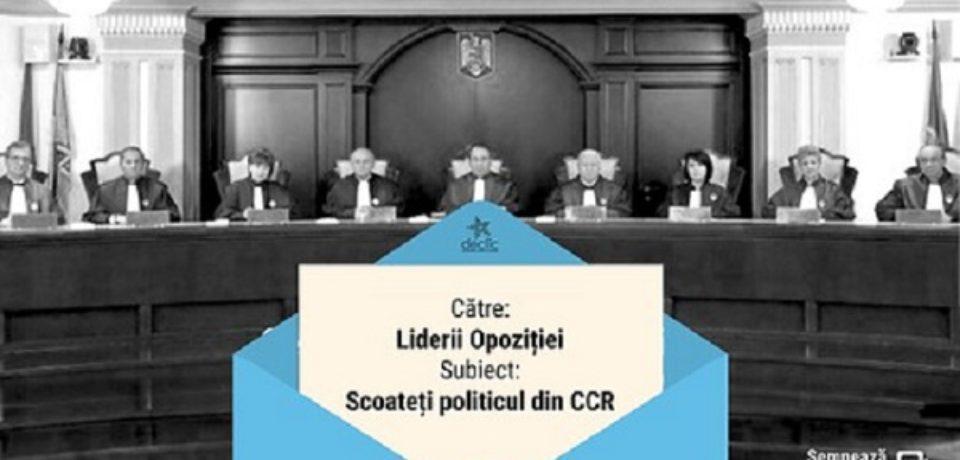 USR propune reformarea CCR: 7 soluții pentru o instanță constituțională depolitizată