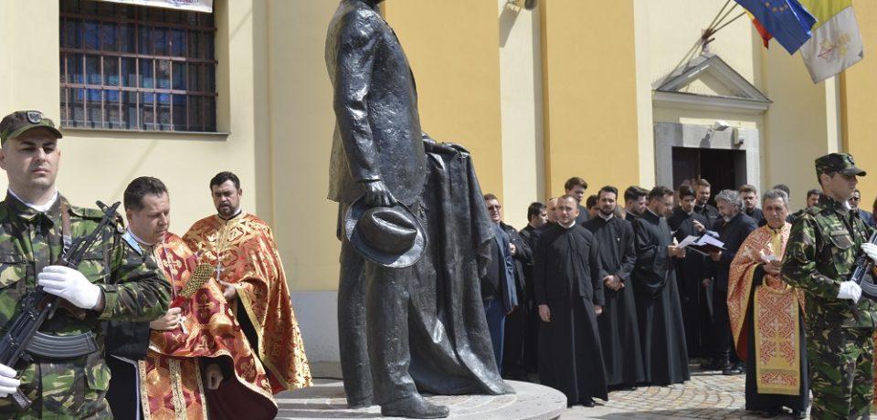 Centenarul Oradiei: statuia lui Iuliu Maniu, semn al recunoștinței orașului
