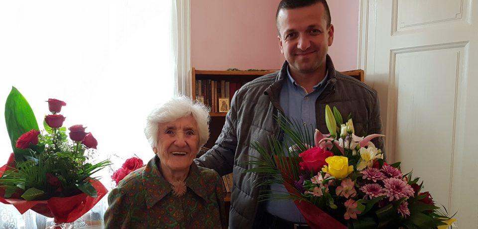 Orădeanca Iuliana Popa a împlinit vârsta de 100 de ani