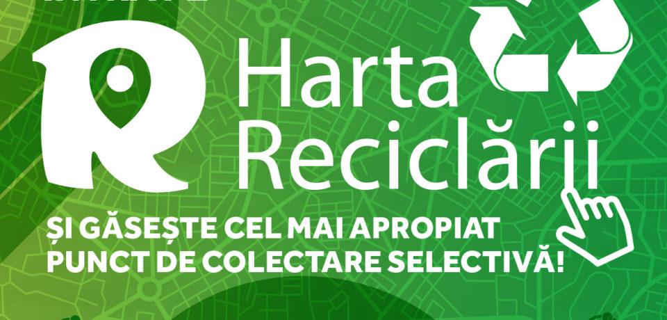 S-a lansat Harta Reciclării, platformă pentru localizarea punctelor de colectare selectivă a deșeurilor reciclabile din România