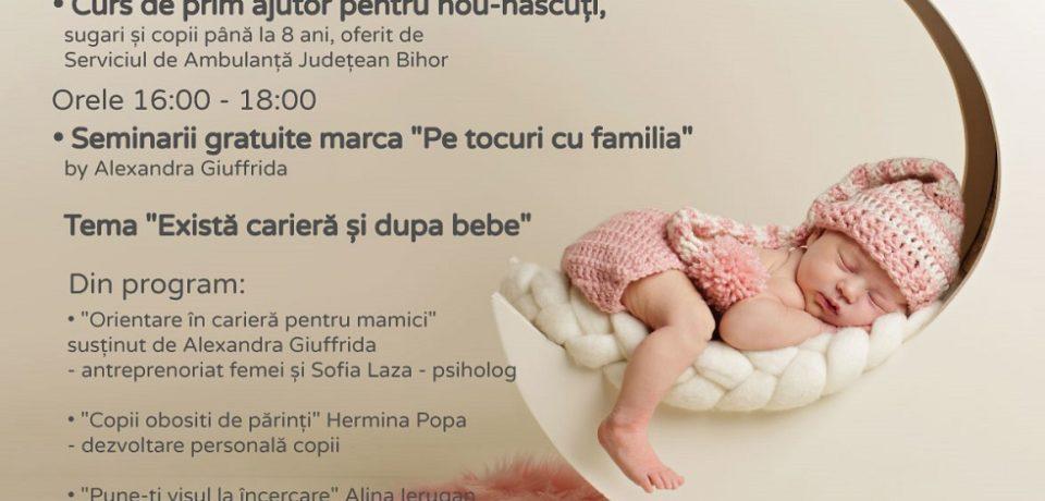 MOJO Baby & Kids, primul târg dedicat femeilor însărcinate, bebelușilor și copiilor, la ERA Park Oradea