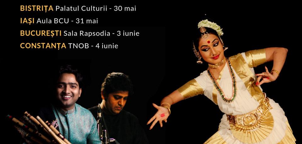 """""""Namaste India"""", spectacol extraordinar de muzică și dans prezentat de șase artiști"""