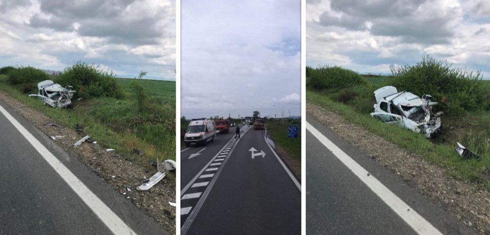 Depășire neregulamentară pe DN 1, fatală pentru conducătorul unui autoturism. Comunicat IPJ Bihor