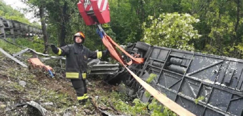 Turişti români, implicaţi în accidentul cumplit de autocar din Italia