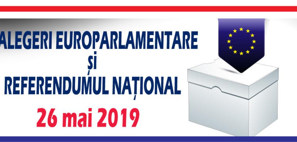 Românii votează duminică la europarlamentare și la referendum. Video
