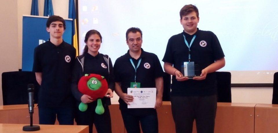 Echipa CoderDojo Oradea, câștigătoarea Competiției Naționale CanSat