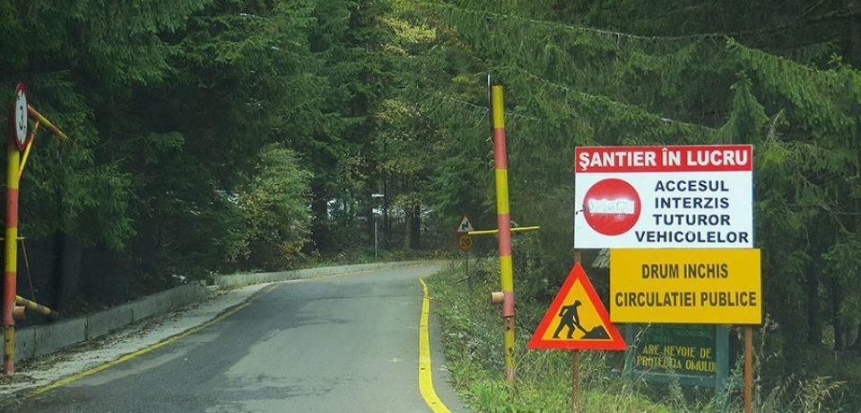 Drumuri județene din Bihor închise circulației până la data de 1 octombrie