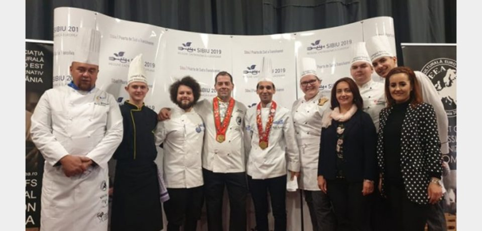 """Elevii Colegiului Tehnic """"Mihai Viteazul"""", cei mai buni la """"Culinariada Juniors'Cup 2019 Sibiu"""""""