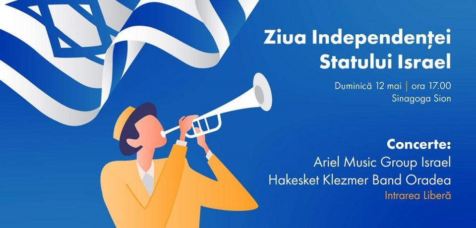 Ziua Independenței Statului Israel, cu muzică live, la Oradea