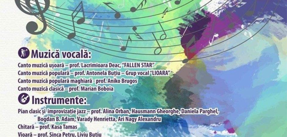 """Gala Artelor, la Școala de Arte """"Francisc Hubic"""" din Oradea"""