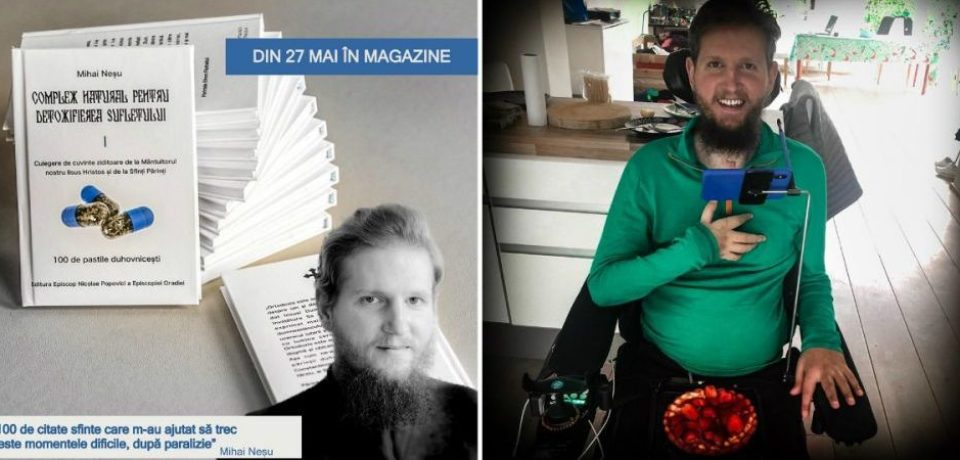Mihai Neşu îşi lansează prima sa carte. Toţi banii vor fi donaţi