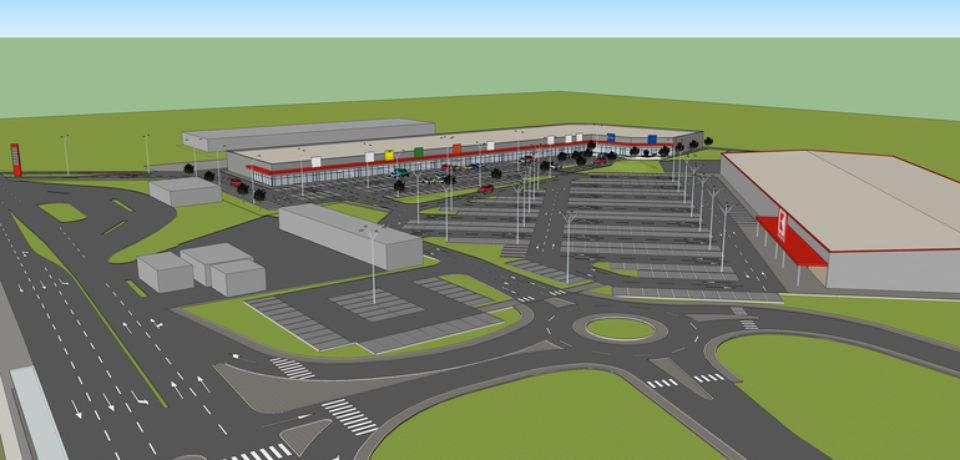 """Un nou parc de retail in Oradea. Cum va arata """"Nest"""""""