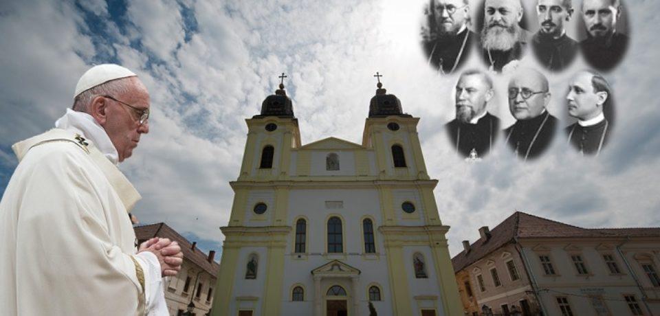 """Credincioșii Eparhiei de Oradea, """"merg împreună cu Papa Francisc"""" la Blaj"""