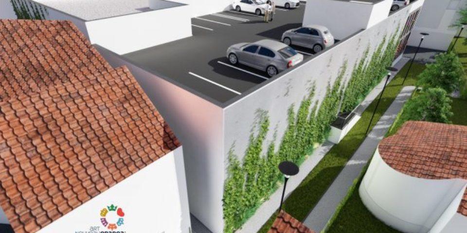 O nouă parcare supraetajată va fi realizată pe strada Iosif Vulcan. Video
