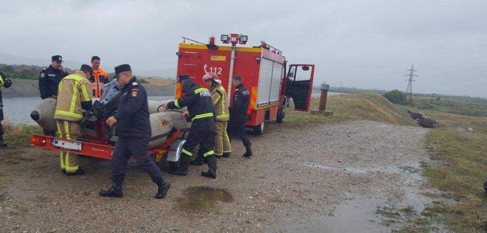 Bărbat salvat de la înec în zona străzii Sovata. Filmul intervenției