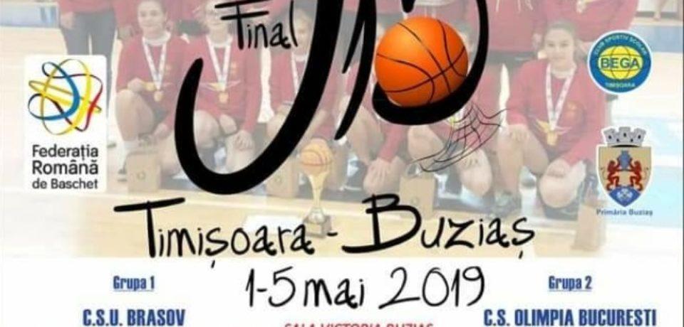 Baschetbalistele de la ACS Rookies BCU Oradea, la Turneul Final de la Buziaş