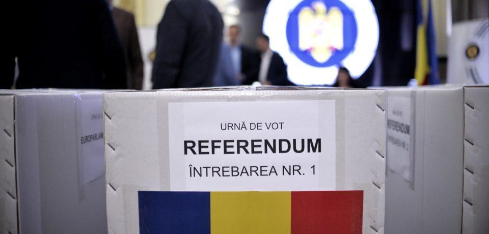Rezultate provizorii pentru referendumul pe justiţie