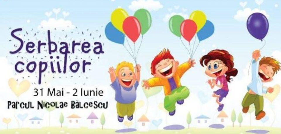 Serbarea copiilor, în Parcul Bălcescu din Oradea. Programul evenimentului