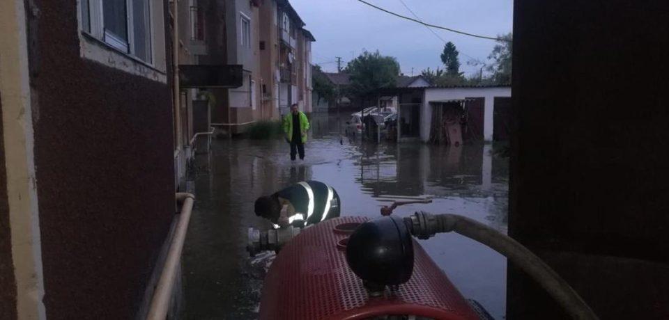 Atenție: avertizare hidrologică -COD PORTOCALIU!  Respectați măsurile de prevenire a situațiilor de urgență