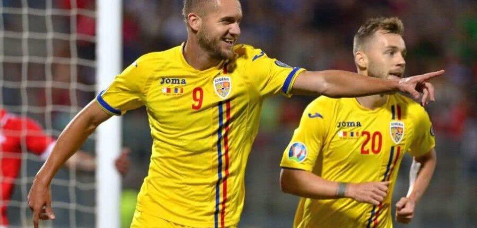 Bihoreanul George Puşcaş, desemnat de Daily Mail cel mai bun jucător de pe teren în meciul Anglia – România