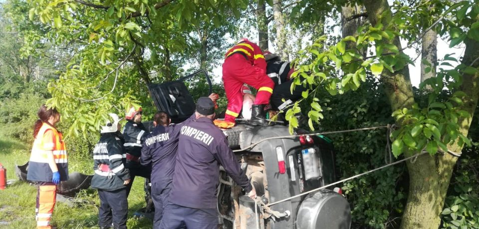 Grav accident in Bihor. Trei persoane ranite