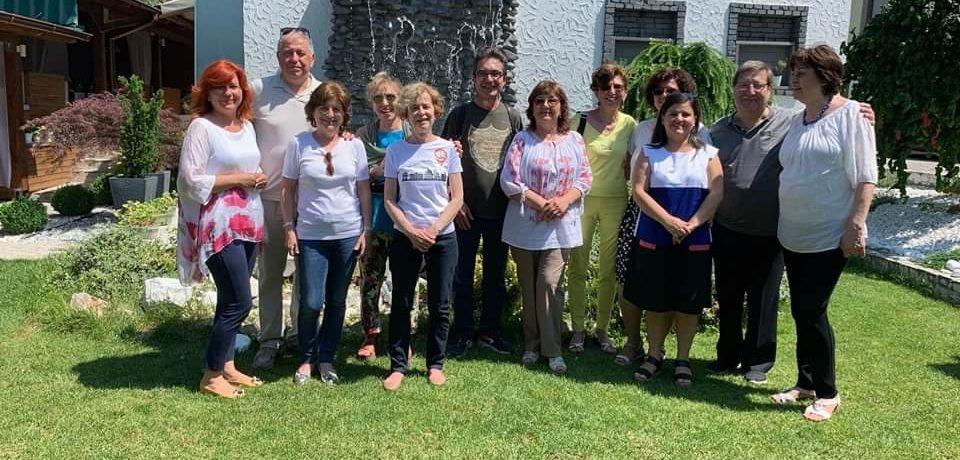 Înfrățirea clubului Kiwanis Art Oradea cu un club italian