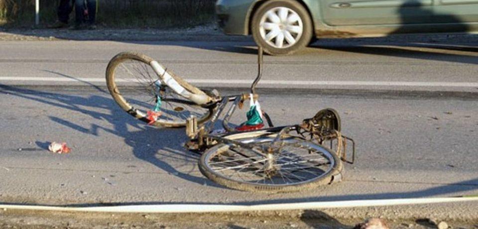 O biciclistă a fost accidentată grav în localitatea bihoreană Sălacea