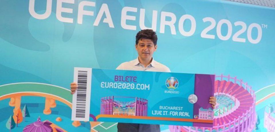 Biletele pentru Euro-2020 au fost puse în vânzare