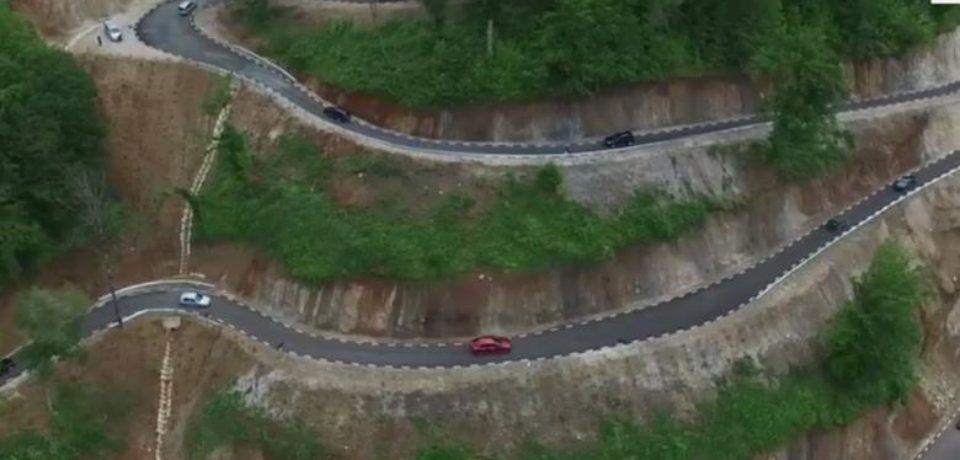 Un drum de poveste a fost deschis traficului în România