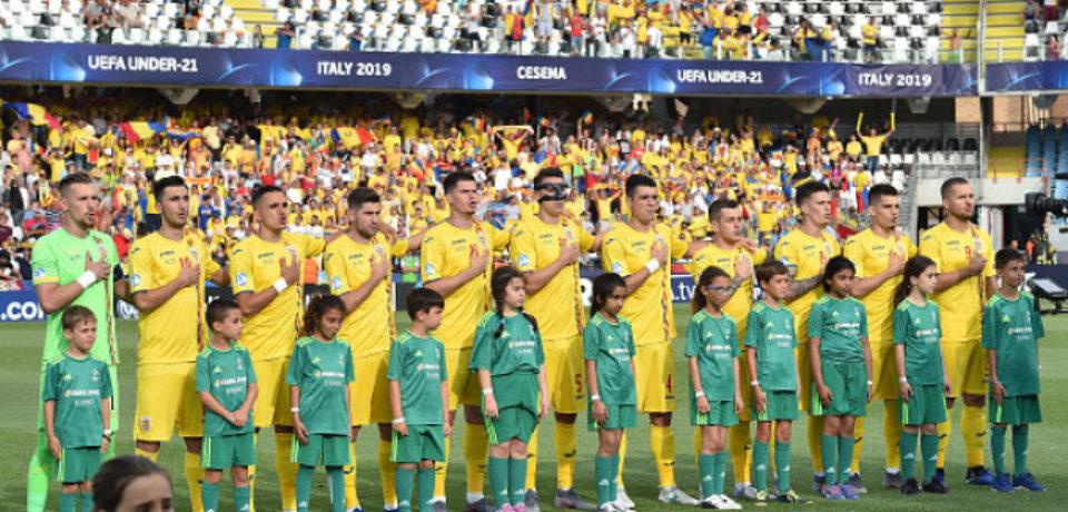 """""""Tricolorii mici"""" joacă împotriva Franţei pentru calificarea în semifinalele Euro-2019 şi la Jocurile Olimpice"""