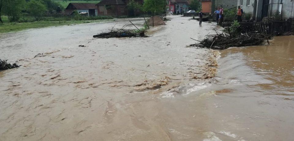 E pericol de inundații, avertizează hidrologii! E cod galben pe Crişul Negru