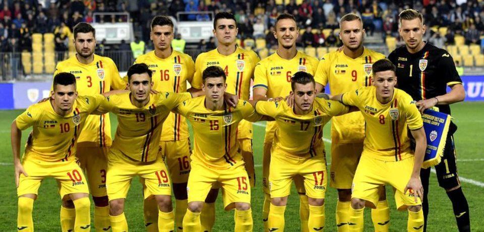 Naționala de tineret a României joacă la Euro 2019 cu gândul la Tokyo 2020. E un bihorean în lot
