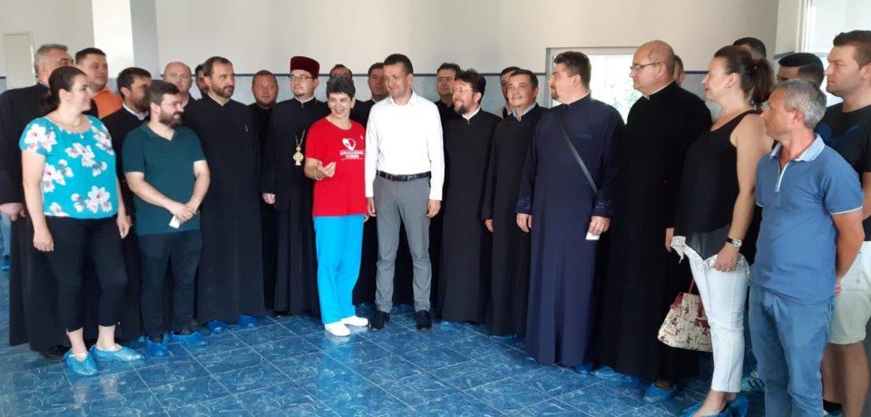 """Preoții din Protopopiatul Oradea s-au alăturat Proiectului """"Donează sânge, salvează o viață!"""""""