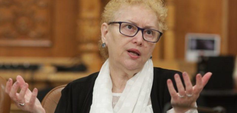 Renate Weber a fost aleasă noul Avocat al Poporului