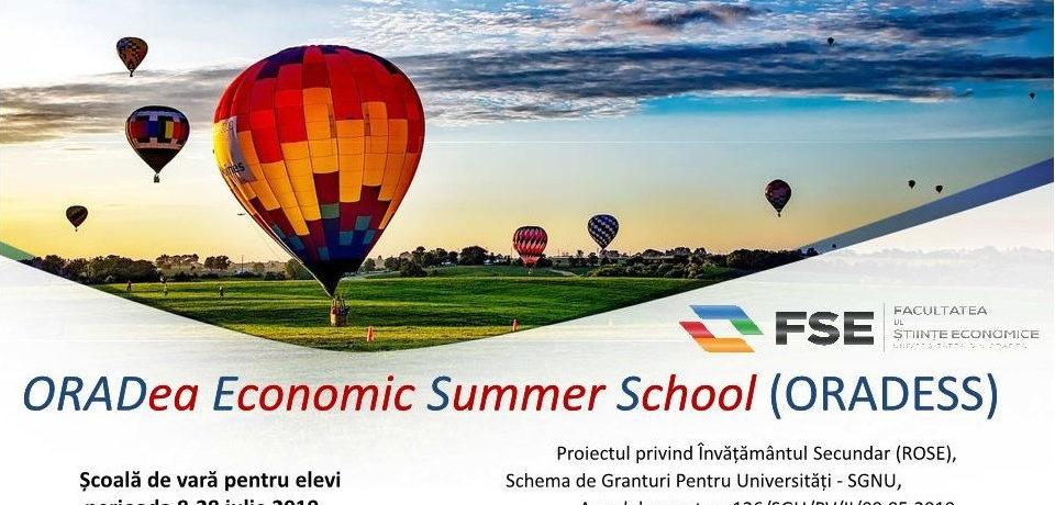 Școli de vară gratuite pentru elevii claselor a X-a și a XI-a la Universitatea din Oradea