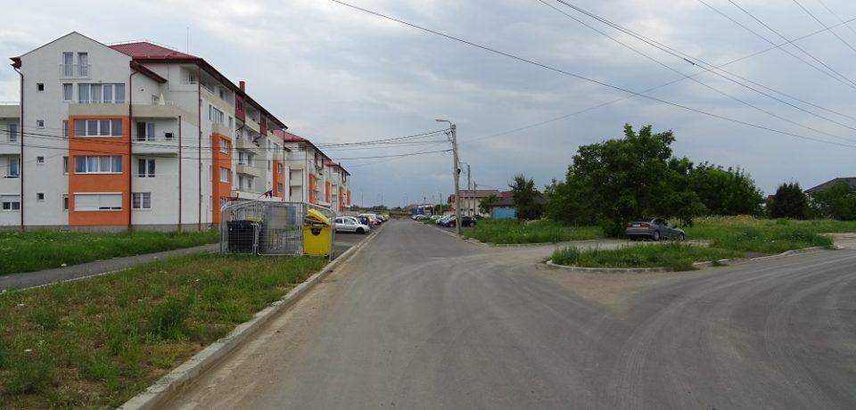 Continuă lucrările de modernizare de pe strada Balogh Istvan din Oradea
