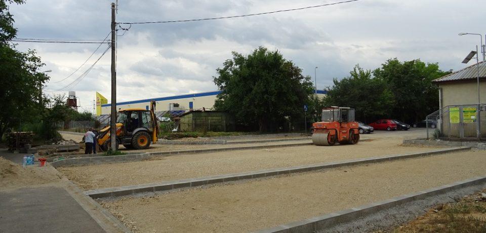 Primăria Oradea amenajează locuri de parcare și un nou parc în cartierul Nufărul