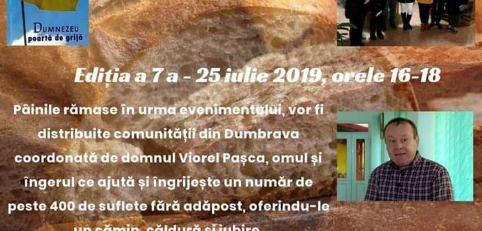 """O nouă ediție a proiectului – """"Oradea donează o pâine"""". Vor ajunge și la Dumbrava"""