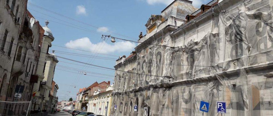 Licitație pentru reabilitarea clădirii Filarmonicii de Stat din Oradea