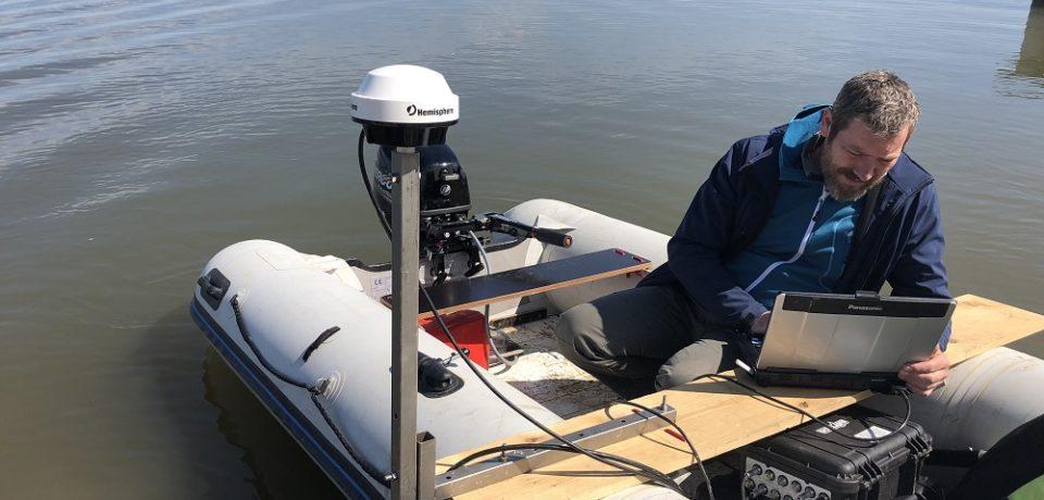 A.B.A Crișuri calculează gradul de colmatare pe lacuri