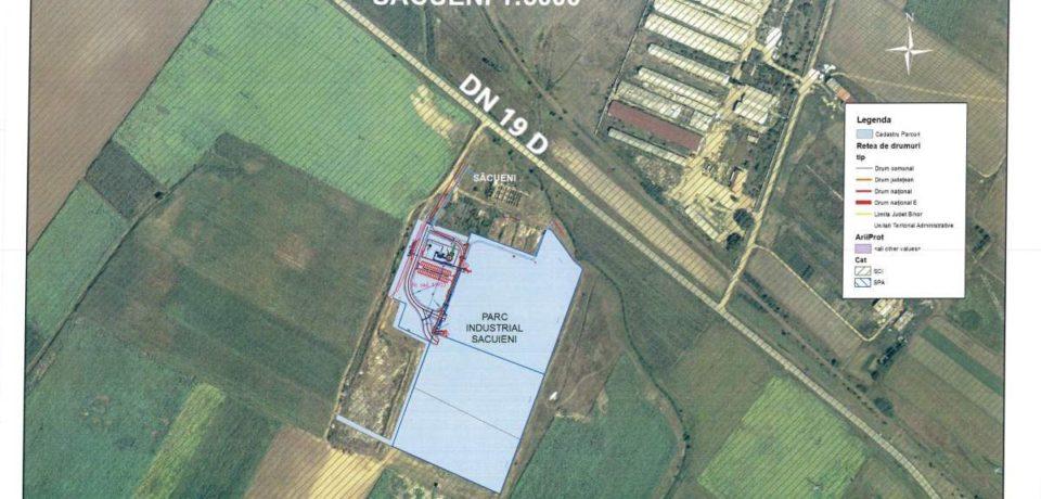 Se caută constructori pentru Parcul Industrial Săcueni